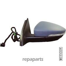 Außenspiegel Links Elektrisch Blinklicht Beheizbar Lackierbar für VW Passat B7