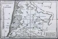 Landes en 1791 Cazan Sore Sabres Arjuzanx Parentis Vieux Boucau Tartas Dax Aire