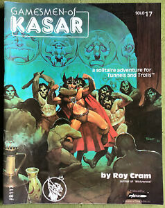 Gamesmen of Kasar - Solo Dungeon No 17 for Tunnels and Trolls #8117 T&T