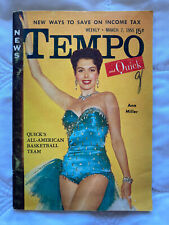 Tempo March 7, 1955 Weekly News Ann Miller Article Magazine
