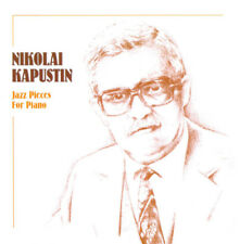 NIKOLAI KAPUSTIN Jazz Pieces for Piano (CD) NEW SEALED