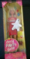 Mattel 1998 Special Edition Coca-cola Party Barbie Nrfb 22964