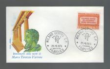 """REPUBBLICA FDC ROMA 1974 """"MARCO TERENZIO VARRONE"""""""