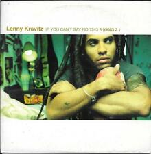 CD SINGLE 2 TITRES--LENNY KRAVITZ--IF YOU CAN'T SAY NO--1998