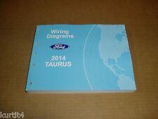 2014 Ford Taurus WIRING DIAGRAM service shop dealer repair manual
