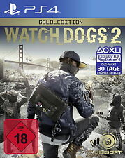 Playstation 4 Spiel PS4 Watch Dogs 2 Gold Edition NEU