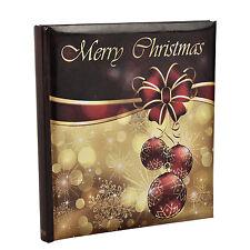 Christmas 5 x 7 Slip In Case Bookbound Memo Photo Album For 120 Holds -AL-9149