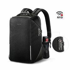 15.6'' Anti-theft Travel Bag Laptop Backpack Rucksack Waterproof w/ USB Port