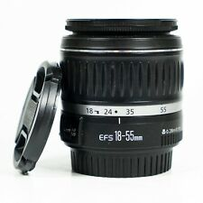 Canon 18-55mm F3.5-5.6 II EFS zoom lens