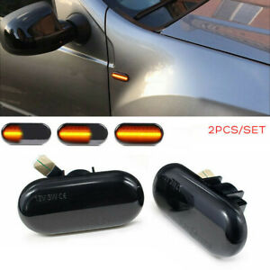 Dynamic LED Side Marker Light Turn Signal Lamp Fit For Renault CLIO Twingo Dacia