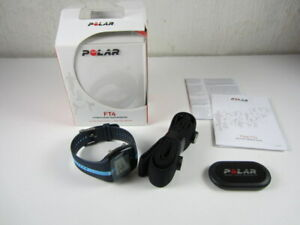 Polar FT4 Training Fitness Heart Rate Monitor Target Zone Blue - New / Open Box