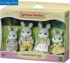 Sylvanian Families 4030 Waldkaninchen Familie Cottontail Rabbit Epoch Neu OVP
