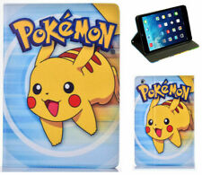 For iPad 2 3 4 Pokemon GO Pikachu Anime Manga Cartoon Smart Case Cover