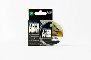 Preston Innovations Reflo Accu Power 100m Monofilament Fishing Line