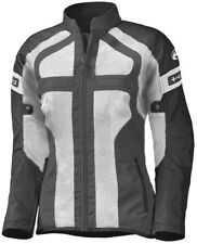 Held Tropic II gris SW mujer motocicleta malla textil chaqueta aireado con DL