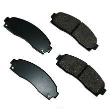 Disc Brake Pad Set-ProACT Ultra Premium Ceramic Pads Front Akebono ACT833
