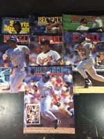 Beckett Baseball Monthly Magazine Lot 7 Sports Illustrated 1992 Issues