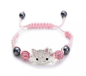 Hello Kitty Armband Rosa Für Kinder / Mädchen   NEU