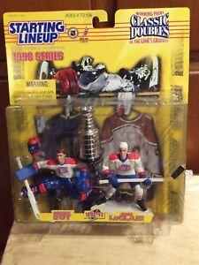 1998 Starting Lineup Classic Doubles Patrick Roy & John LeClair