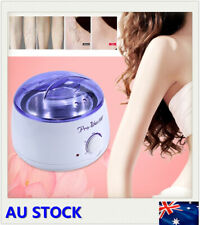 Wax Warmer Hair Removal Kit Waxing Heater Pot + 100G Chocolate Wax Beans AU Plug