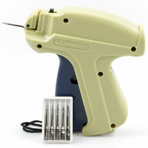 Tagging Gun for Clothes Label Tag Pricing Kit 5 Steel Needle +1000 Kimble Barbs