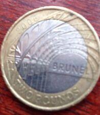 £2 Coin 1806-1859 ISAMBARD KINGDOM BRUNEL PADDINGTON STATION