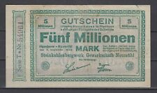 Hamborn - Steinkohlenbergwerk Trade Union Neumühl - 5 Million Mark (286)