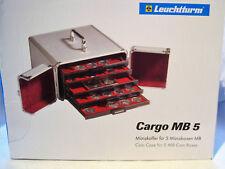 Münzkoffer aus Aluminium, CARGO MB 5, für 5 Münzboxen, Art.Nr.310776