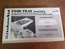 Retro New Kitchen Aid food tray model FT food strainer NOS NIB