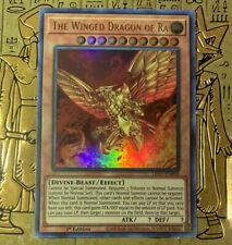 The Winged Dragon of Ra (Alternate Art) Led7-En000 Ultra Rare 1st Nm