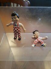 "Vintage Big Boy Figure Bendy Bendable Toy 1997 Elias Brothers Restaurant 3.5"""