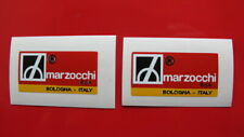 DUCATI BEVEL SS TWINS MARZOCCHI FORK LEG DECALS PAIR  EARLY BEVEL MODELS