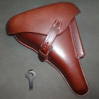 WW2 P08 Holster Brown color w/Take Down Tool (Reproduction) wC315