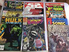 HUGE Lot of 70-75 MARVEL and Random  Comic Books  stuffed boxes  FREE SHIPPING!