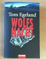 Wolfsnacht von Tom Egeland (Taschenbuch)   ZUSTAND GUT BIS SEHR GUT!