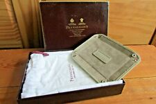 Vintage Penhaligons Leather Catchall Jewellery Tray Boxed With Travel Bag