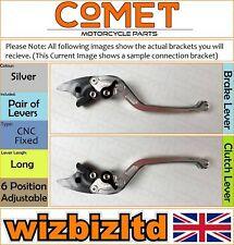 Buell XB12R 2004-2009 [non-Pliant Long Argent] [ Comet Réglable Course Levier]