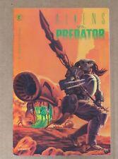 Comic Book Aliens vs. Predator Fictional Fantasy Books Super Hero 1st Issue Dark