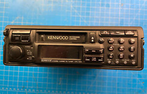 Kenwood KRC-930 Car Stereo Cassette Deck w/Remote & Case