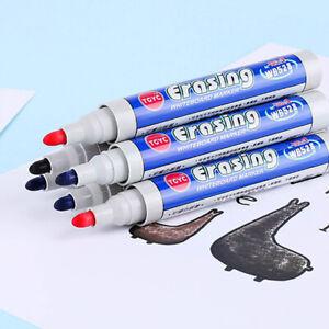5pcs Marker felt marker pen black erasable Whiteboard for Off ZC