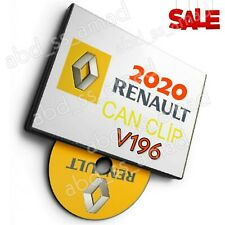 Renault Can Clip v196 🚗 Latest version 05.2020 🚗 Extra Bonuses 🚗