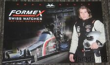 2015 Noah Stutz Formex Swiss Watches Top Alcohol Dragster NHRA postcard