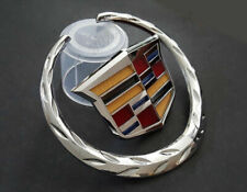 "Cadillac Front Grille 6"" Emblem Hood Badge Chrome Symbol Ornament"