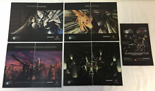 FINAL FANTASY VII ~ Final Fantasy 7 ad collection ~ lot of 5 video game+toy ads