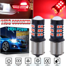 3030SMD 1156 7506 P21W Pure Red LED Brake Stop Light Bulb Super Bright Upgrade