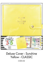 me & my BIG ideas The Happy Planner Classic Deluxe Cover SUNSHINE YELLOW