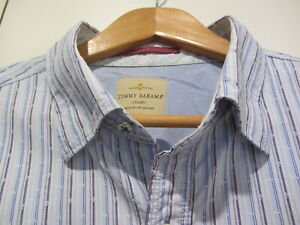 TOMMY BAHAMA JEANS LONG SLEEVED SHIRT.......L