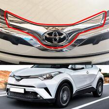 For TOYOTA C-HR CHR SUV Front Emblem Garnish Cover Trim 2016-2018 Chrome