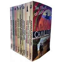Inspector Montalbano 8 Books Set Collection by Andrea Camilleri  (Book 11-18) Se