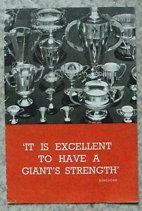AUSTIN COMPETITION SUCCESS Publicity Brochure 1937 RACING SEVENS